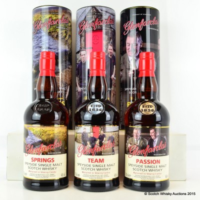 Glenfarclas Trilogy - Springs, Team & Passion