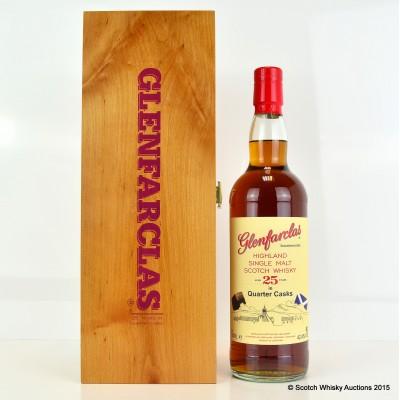 Glenfarclas 25 Year Old Quarter Cask