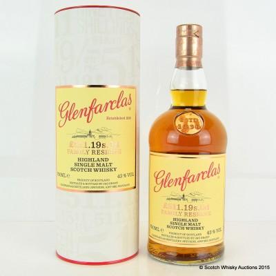 Glenfarclas £511.19s.0d Family Reserve