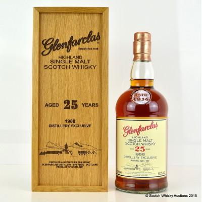 Glenfarclas Distillery Exclusive 1988 25 Year Old