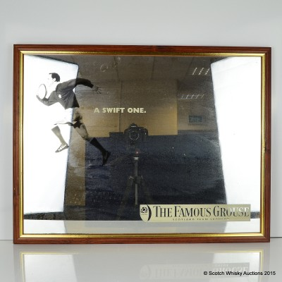 Famous Grouse 'A Swift One' Pub Mirror