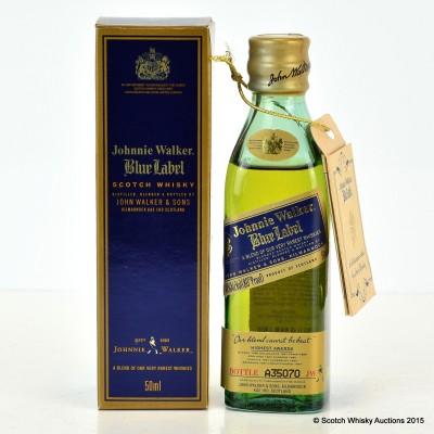 Johnnie Walker Blue Label Mini 5cl