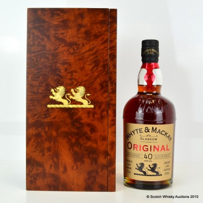 Whyte & MacKay Original 40 Year Old