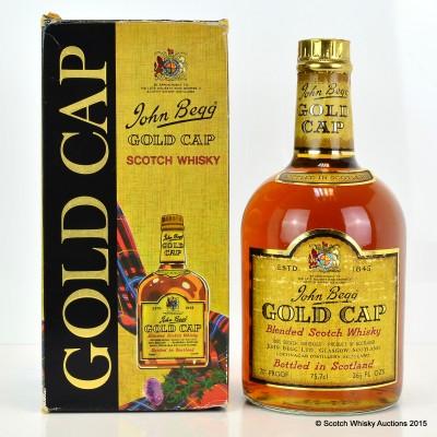 John Begg Gold Cap 26 2/3 Fl Oz