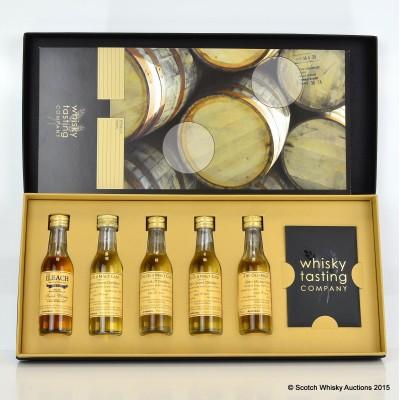 Whisky Tasting Company Set Minis 3cl x 5