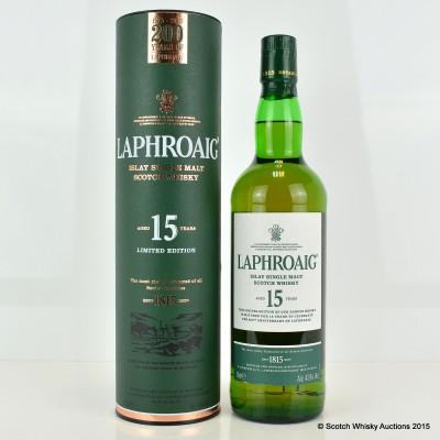 Laphroaig 15 Year Old 200 Year Anniversary