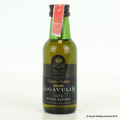 Lagavulin 1979 Distillers Edition Mini 5cl