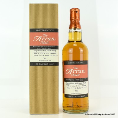 Arran Cream Sherry Cask