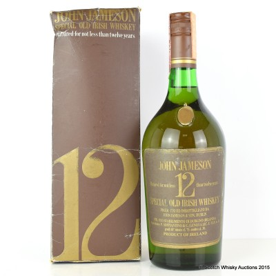 John Jameson 12 Year Old 75cl