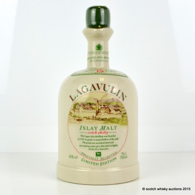 Lagavulin 15 Year Old White Horse Decanter 75cl