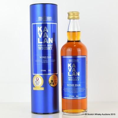 Kavalan Wine Oak 20cl