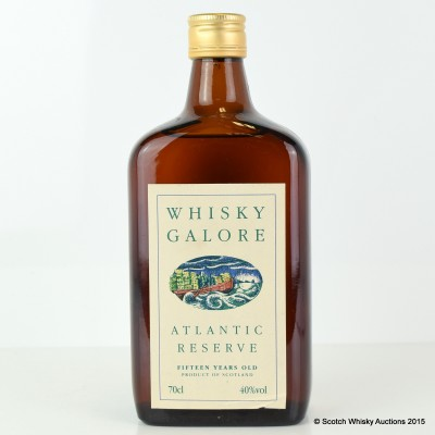 Whisky Galore Atlantic Reserve 15 Year Old