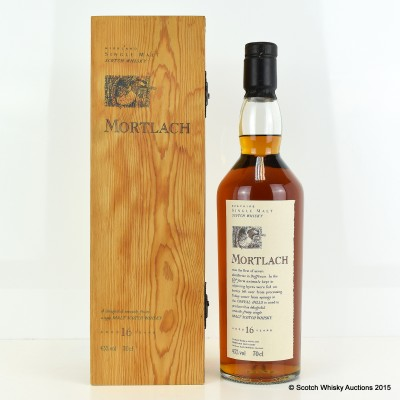 Flora & Fauna Mortlach 16 Year Old In Wooden Box