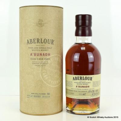 Aberlour A'Bunadh Batch #41