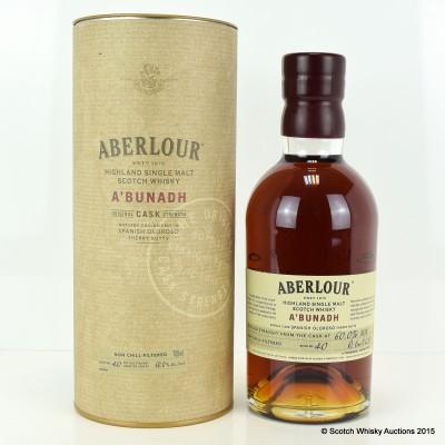 Aberlour A'Bunadh Batch #40