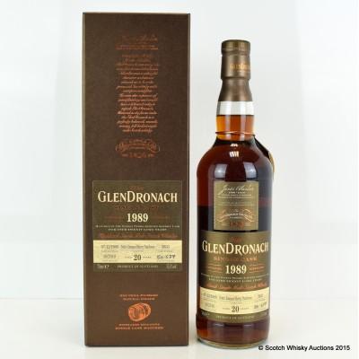 GlenDronach 1989 20 Year Old Single Cask #3833