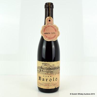 Vercelli Luigi & Figlio Vino Barolo 1974