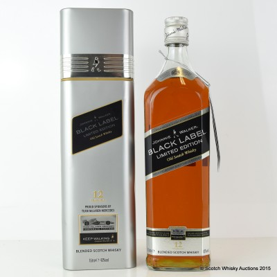 Johnnie Walker Black Label 12 Year Old McLaren Edition