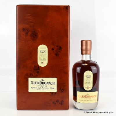 GlenDronach Octaves 20 Year Old
