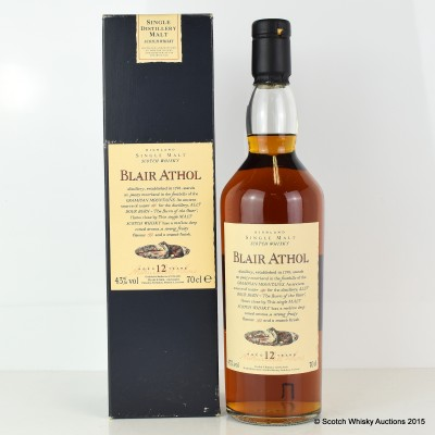 Flora & Fauna Blair Athol 12 Year Old
