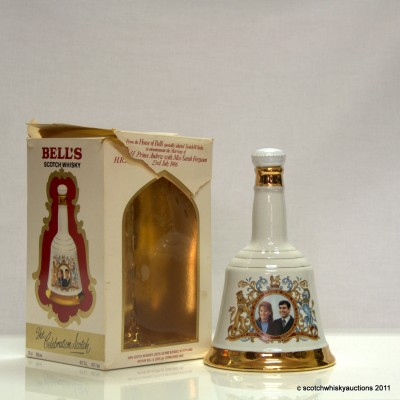 Bell's Decanter - Andrew and Sarah