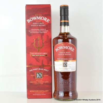 Bowmore Devil's Cask 10 Year Old Batch #2 75cl