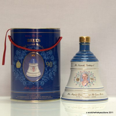 Bell's Decanter - The Queen Mum