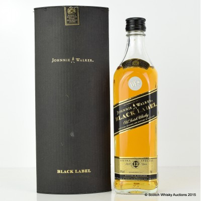 Johnnie Walker Black Label 12 Year Old 20cl