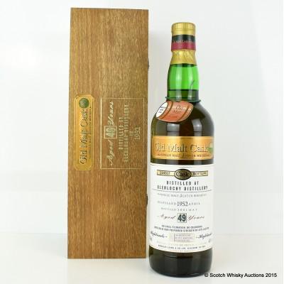 Glenlochy 1952 49 Year Old Single Cask Bottling OMC