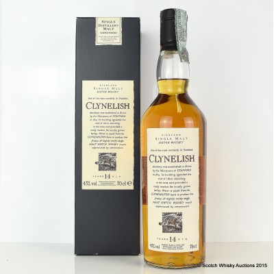 Flora & Fauna Clynelish 14 Year Old