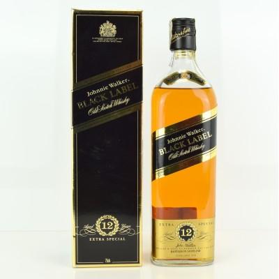 Johnnie Walker Black Label 12 Year Old 75cl