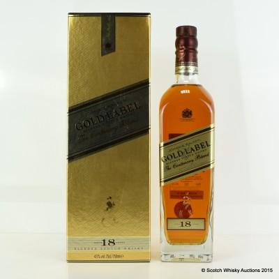 Johnnie Walker Centenary Blend Gold Label 18 Year Old