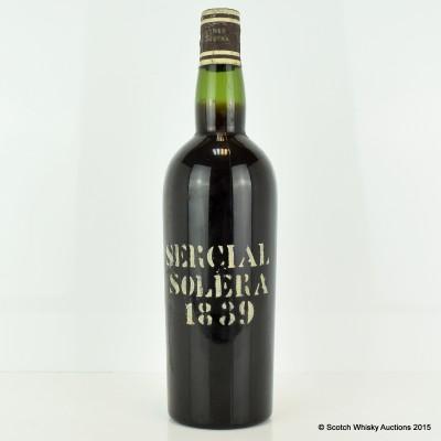 Gomes Madeira 1839 Sercial Solera