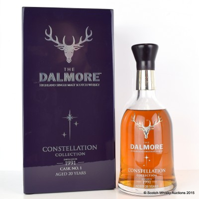 Dalmore Constellation Collection 1991 20 Year Old