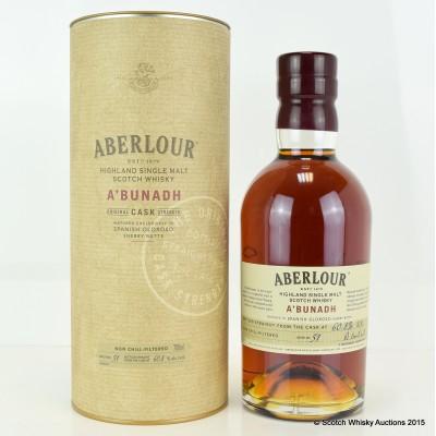 Aberlour A'Bunadh Batch #51