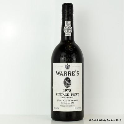 Warre's 1975 Vintage Port 75cl
