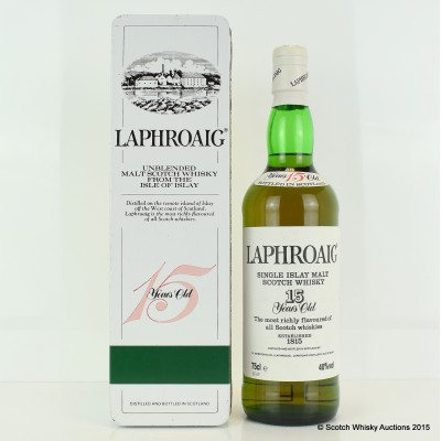 Laphroaig 15 Year Old Pre-Royal Warrant 75cl