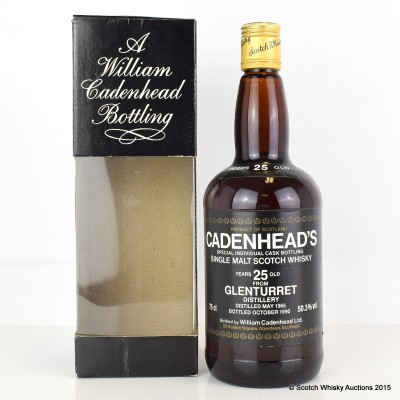 Cadenhead's Glenturret 1965 25 Year Old 75cl