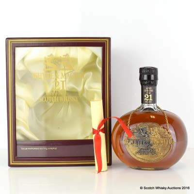 Whyte & Mackay 21 Year Old Decanter 75cl