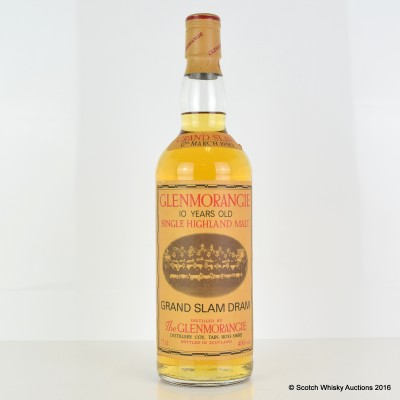 Glenmorangie Grand Slam Dram 75cl