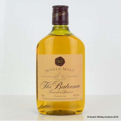 Balvenie Founder's Reserve 10 Year Old 50cl