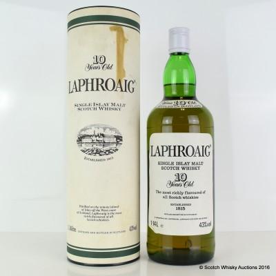 Laphroaig 10 Year Old Pre-Royal Warrant 1.14L