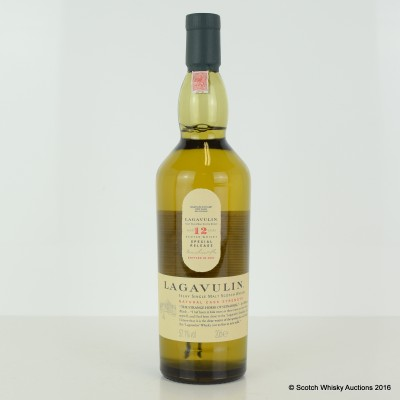 Lagavulin 12 Year Old 2007 Release 20cl