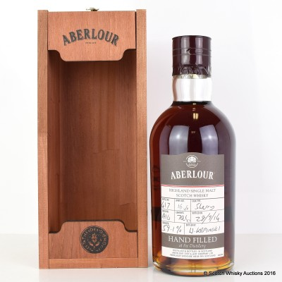Aberlour Distillery Only Hand Filled Sherry Cask 16 Year Old