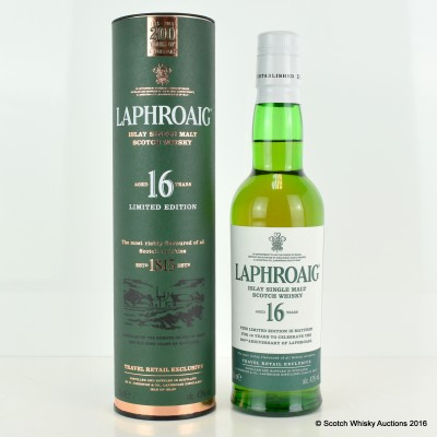 Laphroaig 16 Year Old 200th Year Anniversary 35cl