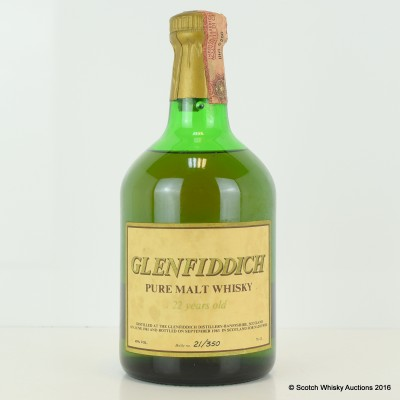 Glenfiddich 1961 22 Year Old 75cl