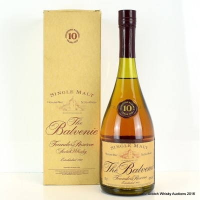 Balvenie Founder's Reserve Cognac Bottle 75cl