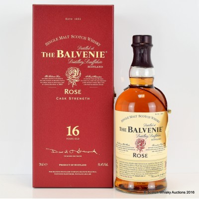 Balvenie Rose 16 Year Old 1st Release