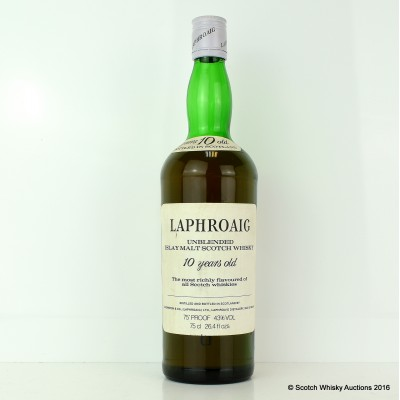 Laphroaig 10 Year Old Old Style 26.4 fl ozs