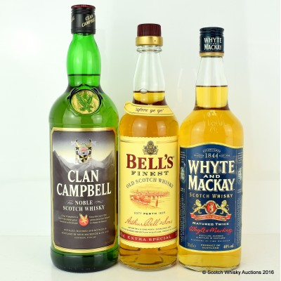 Whyte & MacKay, Clan Campbell 1L & Bell's